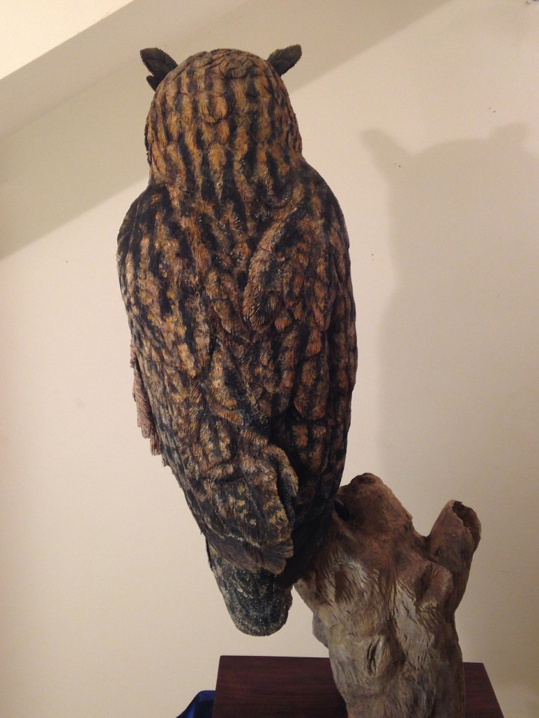 Martyn bednarczuk fine art bird carvings